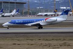 British Midland G-RJXL, OSL ENGM Gardermoen (Inger Bjørndal Foss) Tags: norway airplane osl gardermoen grjxl britishmidlandregional