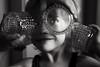 Unnar (Dalla*) Tags: boy portrait white black four glasses hands wwwdallais