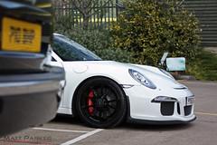 Peekaboo! (MJParker1804) Tags: white 911 porsche 991 gt3 pdk