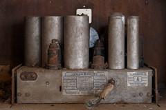 Check the Tubes (robvaughnphoto.com) Tags: ohio abandoned radio antique ux ruraldecay mansfield urbex tuberadio ruraldeacy rjvtog