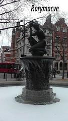 Bubble bath! (Rorymacve Part II) Tags: water fountain statue bubblebath bubbles figurine sloanesquare
