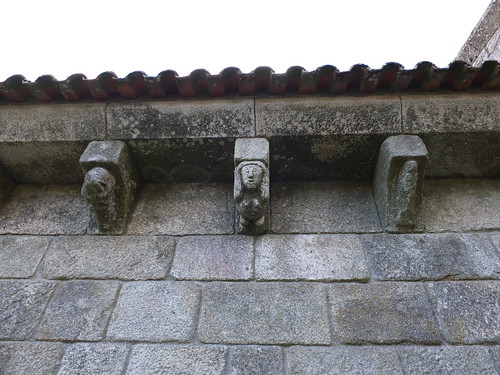 Iglesia del Salvador - Canecillos