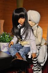 Valentine's Day (Mista-Oro) Tags: boy white black couple tan mo msd megi dollzone