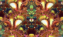 Sterle Fractal Flower Garden by DMS - 01-26-15 (d.m.s. studios) Tags: abstract color art floral pattern chaos processing fractal fractals