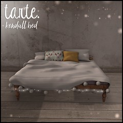 tarte. kendall bed for Luxe Box May 2016 (tarte.) Tags: life bed mesh box sl secondlife second tarte luxe luxebox