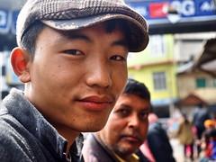 Kohima - Young man with flat cap (sharko333) Tags: voyage street travel man asia asien cap asie indien reise kohima nagaland em1  flatcapolympus