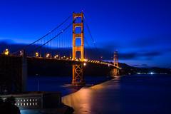 Golde Gate Bridge (tobias.koeltzsch) Tags: ocean sanfrancisco california bridge usa goldengatebridge sanfranciscobay