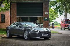 Aston Martin Rapide. 9th Sunday Scramble 22.5.2016 (Jackbaker53) Tags: heritage sports car martin sunday super 9th aston astonmartin scramble bicester rapide sundayscramble
