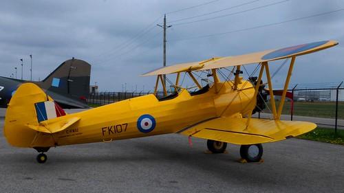 Boeing Stearman A75N1 PT-17-BW Kaydet at Canadian Warplane Heritage