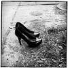 Lost & Found ;-) (bob august) Tags: bw blackwhite shoes noiretblanc mai squareformat printemps iphone portes souliers alienskin escarpins montréal iphone4 aperture3 formatcarré appaltphoto