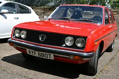 1979 Lancia Beta 1300 Saloon (davocano) Tags: brooklands autoitalia autoitalia2016 ayf880t