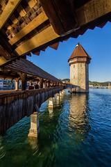 Kapellbrcke, Luzern, Swiss [explore n55 du 03 06 2016] (Vins 64) Tags: luzern luzerne lucerne suisse swiss switzerland schweiz explore kapellbrcke