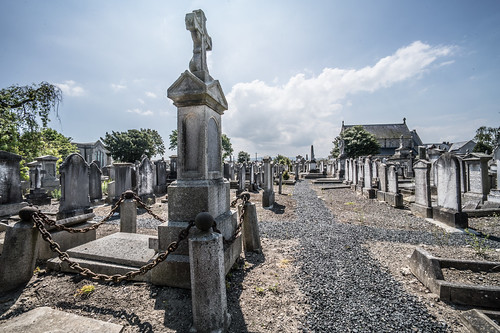 MOUNT JEROME CEMETERY AND CREMATORIUM IN HAROLD'S CROSS [SONY A7RM2 WITH VOIGTLANDER 15mm LENS]-117054