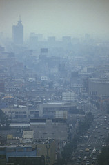 JMFA0414 (atlasphotoarchive) Tags: city cars skyline america buildings mexico smog df quality air central cities environmental mexican health pollution environment roads issues infamous exhaust fumes polluted