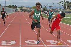 D151757A (RobHelfman) Tags: sports losangeles track fremont highschool trackmeet crenshaw