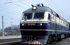 DF11-0049  Peking  18.03.99 (w. + h. brutzer) Tags: china analog train nikon eisenbahn railway zug trains locomotive peking lokomotive diesellok df11 eisenbahnen dieselloks webru