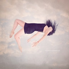 falling and floating (Dickinson-Davis Photography) Tags: selfportrait clouds self fineart surreal floating falling ethereal levitating aaw activeassignmentweekly bestofweek1