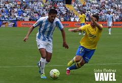 Mlaga CF vs UD Las Palmas (VAVEL Espaa (www.vavel.com)) Tags: las la al charles thani javi jornada 38 rosaleda varas cifu camacho recio atsu udlaspalmas mlagacf weligton temporada1516