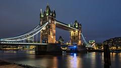 London - The tower bridge (Stefan Sellmer) Tags: longexposure england london classic architecture night towerbridge lights outdoor gb vereinigteskönigreich