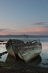 Old Boats (Ed Swift) Tags: wrecks sunset sigma water salen canon isleofmull pastel neutraldensityfilter abandoned sigma1835mmf18art ndfilter ships hitech outdoors 365 7d2 1835mmf18 boats mull