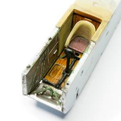 Eindecker: Cockpit (Will Vale) Tags: ww1 172 scalemodel airfix fokker monoplane eindecker fokkereindecker