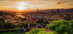 Florence (jsvamm) Tags: ifttt 500px florence italy tuscany fi firenze italia toscana city sky sun sunset clouds architecture ponte