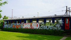Graffiti in Zrich 2015 (kami68k []) Tags: train graffiti zurich sbb illegal zrich muay bombing lmc amok koner ocr 2015 wak finel