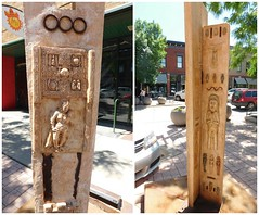 THREE GRACES by Susan Quinlan (Visual Images1) Tags: sculpture diptych siouxfalls picmonkey