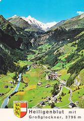 Ansichtkaart Heiligenblut Groglockner 3796m (dickjan thuis) Tags: postcard ansichtkaart heiligenblut grosglockner 3796m