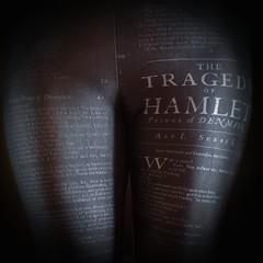 Literary Leggings (DeeMac) Tags: shadow black dark moody shakespeare 45mm squarecrop hamlet leggings hss wordswordswords blackonblack happyslidersunday em5markii literaryleggings thegloomydane