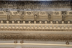 Beautiful Floral Patterns (VinayakH) Tags: india graves hyderabad tombs carvings necropolis nizam nobility paigah paigahtombs telangana maqhbarashamsalumara