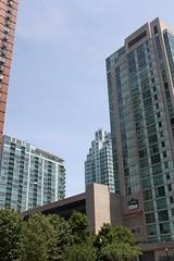 Towers (ktmqi) Tags: newportjerseycity hudsoncounty urban city brick glass curtainwall
