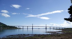 "Kessock Bridge with ""Rosehaugh"" beneath it in Beauly firth (Loch Beauly) Inverness Scotland (conner395) Tags: scotland highlands alba great scottish escocia glen highland scotia szkocja caledonia conner inverness ness esccia schottland schotland ecosse scozia scottishhighlands skottland skotlanti skotland    highlandscotland  invernesscity capitalofthehighlands inbhirnis cityofinverness  highlandcapital davidconner daveconnerinverness daveconnerinvernessscotland capitalofscottishhighlands capitalofthescottishhighlands capitalofhighlandsofscotland burghofinverness capitalofthehighlandsofscotland  highlandscapital capitalhighlands capitalofhighlands"