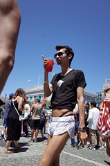 _R168301 (earlyadopter) Tags: sanfrancisco pointing gayparade sfboys sfpride2016