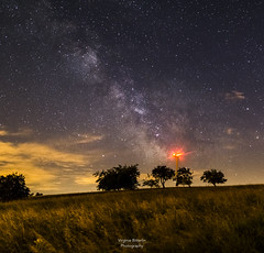 Our Energy (virginieb20) Tags: light sky cloud france nature night clouds canon stars landscape photography nightscape outdoor astrophotography 24mm paysage nuit voie toiles moselle samyang lacte canon6d richeval