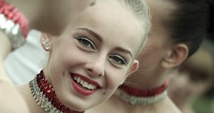 Majorette _ FP1949M4 (attila.stefan) Tags: portrait smile festival hungary pentax x stefan majorette stefn attila magyarorszg 2016 k50 portr fesztivl mazsorett srvr srvri fvszenekari