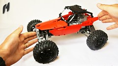 How to Build the Lego Technic Buggy (hajdekr) Tags: auto terrain car wheel automobile ride lego offroad suspension wheels platform large creation technic tip howto tips vehicle remote guide manual chassis remotecontrol bluetooth buggy rc base solution crawler allterrain moc shockabsorber assemblyinstructions selfsupporting carchassis myowncreation buildinginstructions lmotor sbrick buildingguide smartbrick selfsupportingchassis