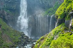 The basin of a waterfall (sonica@2006) Tags: japan was is waterfall it falls basin best part mysterious fujifilm nikko really fujinon tochigi solemn the kegon xm1 platinumheartaward xf35mm