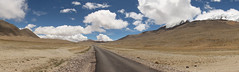 Road to anywhere (siddarth.machado) Tags: panorama india cold landscape desert stitch northsikkim transhimalayas 5000msl