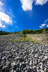 Secret Beach Durlston - July 2016 (4 of 6).jpg (philipc) Tags: blue sea summer sky clouds rocks secretbeach cliffs dorset swanage durlston