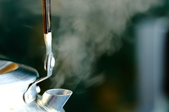 Boiling Water (Bwaah) Tags: water coffee tea steam kettle boiling
