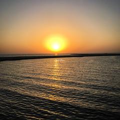 Sunset .. (Mohmed Althani) Tags: alrayyan qatar qa summer sunset sun sunrise sea sky sand seascape sailing water whitsand color exposure seaside doha day ocean shore outdoor landscape coast
