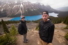 Peyton Lake (Zac Staffiere) Tags: rockies jasper hiking roadtrip alberta banff peyto