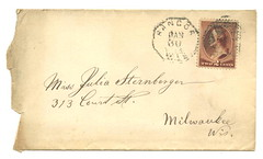 JS_to_Julia_S_1886_env (Max Kade Institute for German-American Studies) Tags: handwriting script handwritten cursive sternberger kurrent