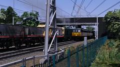 WCML Trent Valley - Coal It What You Will (onelimatwenty) Tags: rail railworks simulator sim train ts2016 ts2015 trainsimulator trentvalley class20 britishrail wcml westcoastmailline coalsector