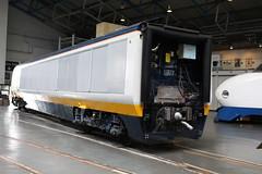 Eurostar Power Car 3308 17-06-2016 NRM.4 (routemaster2217) Tags: york train eurostar railway emu locomotive nrm nationalrailwaymuseum electricmultipleunit 3308 powercar class3732