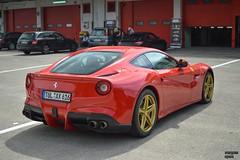 Golden Rims (Beyond Speed) Tags: auto red italy automotive ferrari supercars automobili f12 v12 imola berlinetta