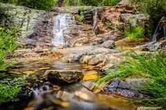Rock&Water (DanielSan_05) Tags: longexposure water river spring spain rocks guadalajara falls transparent pueblos silky flows valverde