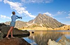 Sean & Emily - Wedding slideshow (Sweendo) Tags: lake washington mt lakes sean stuart basin alpine backpacking wa headlight wilderness ingalls sweeney sweendo