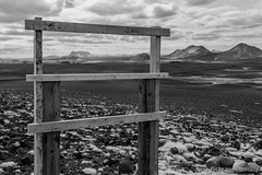IMG_1191-2.JPG (bm.tully) Tags: travel light sky blackandwhite mountain mountains nature monochrome clouds contrast canon landscape blacksand is iceland spring sand rocks outdoor himmel east infrared ultraviolet deserted ringroad 2016 eosm